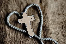 Cross on rope