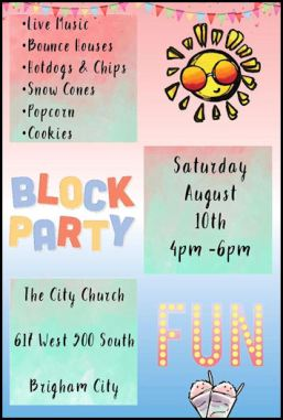 City Church block party